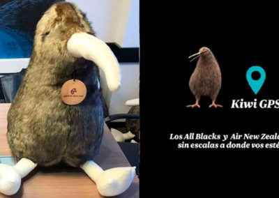 Air New Zealand - Concurso Kiwi gps - peluche